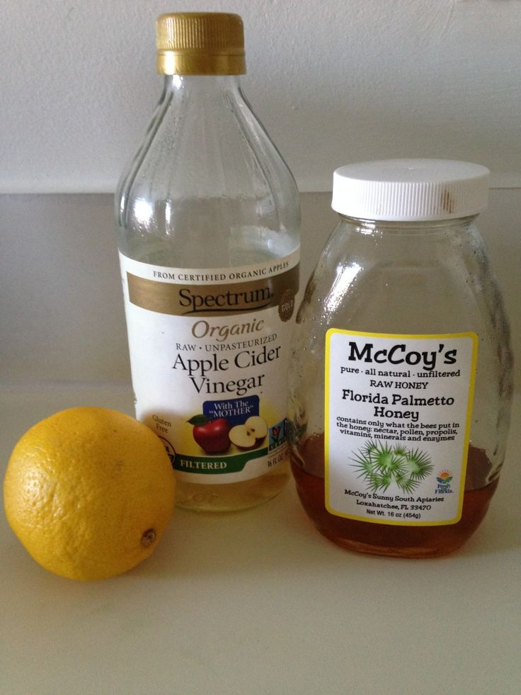 This is what apple cider vinegar (with honey, lemon, and cayenne pepper) can do for a SINUS INFECTION