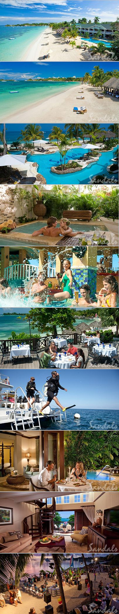 The Best Caribbean All Inclusive Resorts For Couples:  Sandals Negril
