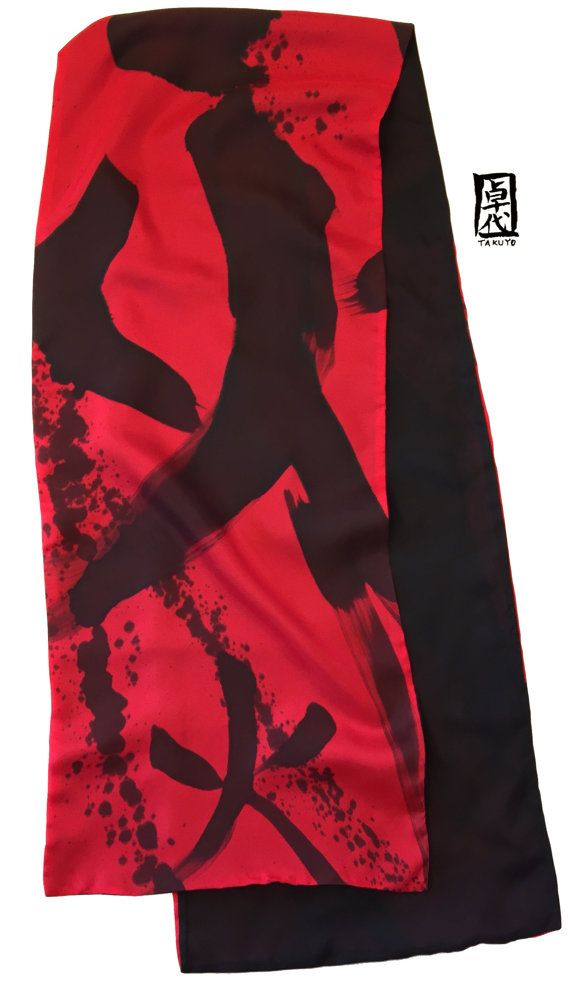20 best Hand painted silk scarves images on Pinterest ...