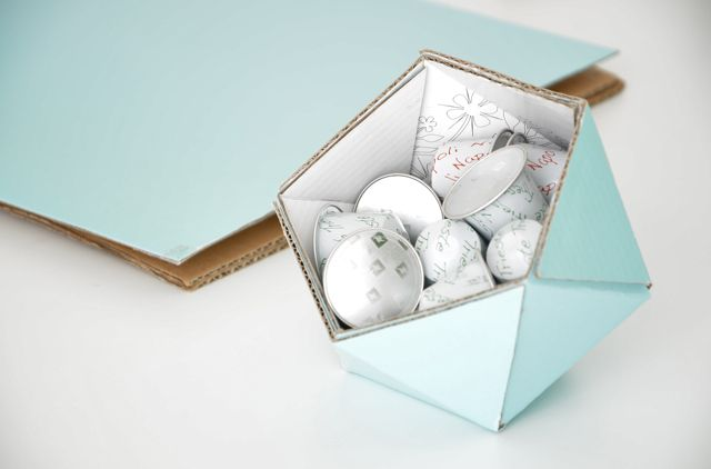 anunkblog: DIY geometric bowl (with template)