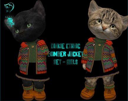 Dinkie Ethnic Bomber Jacket set - GIRLS