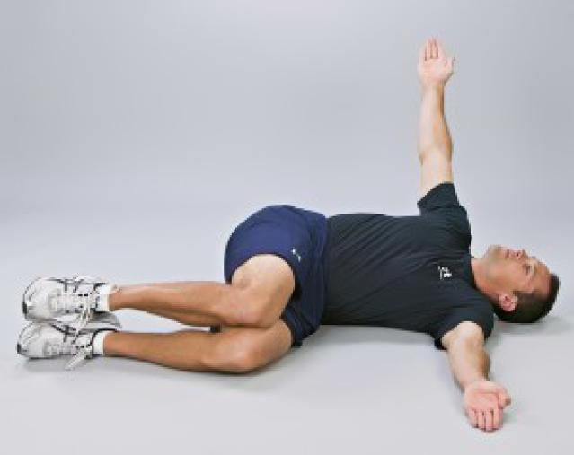"""""""Openers"""" - A Lower Back Stretch for Golfers: Finish Position - Openers Lower Back Stretch"""