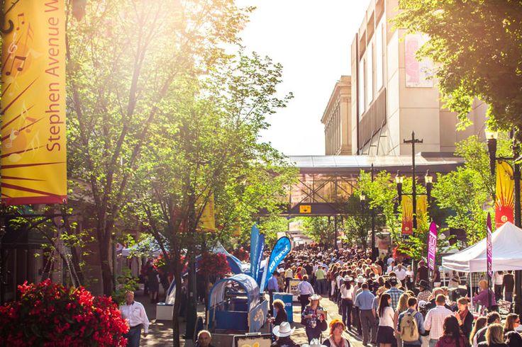 Stephen Avenue - Calgary Feel The Energy!