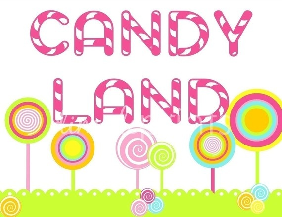 Candyland Signs-Printable | Party ideas - Candy land party | Pinterest ...