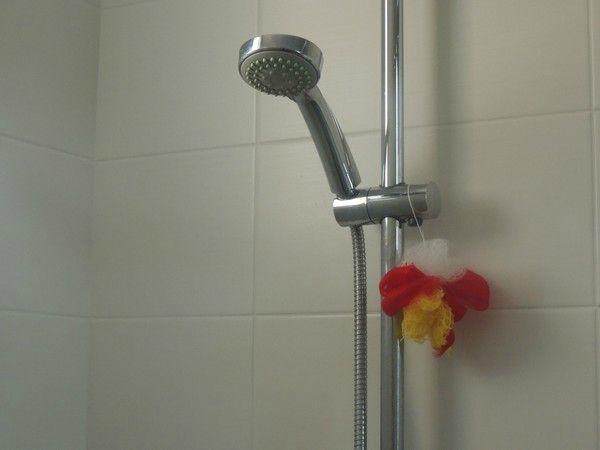 Faire une fleur de douche