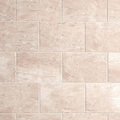 Roman White Marble Ceramic Tile - 8 x 12 - 100138171   Floor and Decor