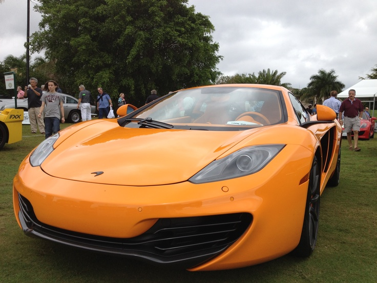 Mclaren MP4-12C at the Boca Raton Concours d'Elegance
