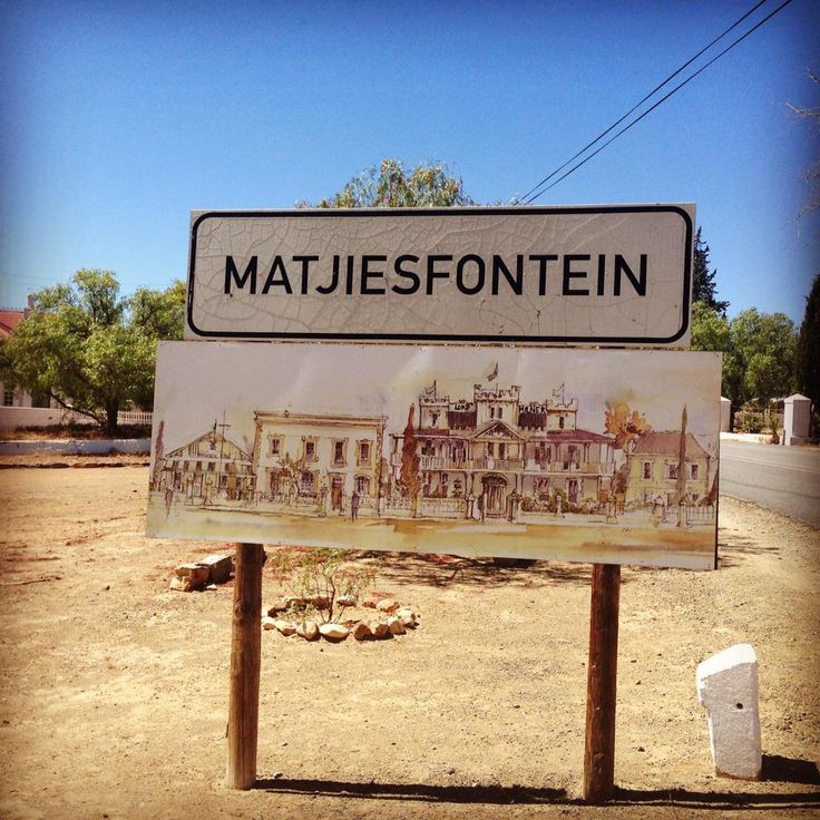 Thank you @Matjiesfontein for a lovely stay!