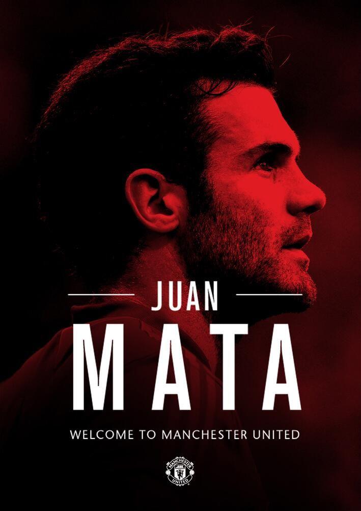 Get JUAN MATA <3 & other team members signature
