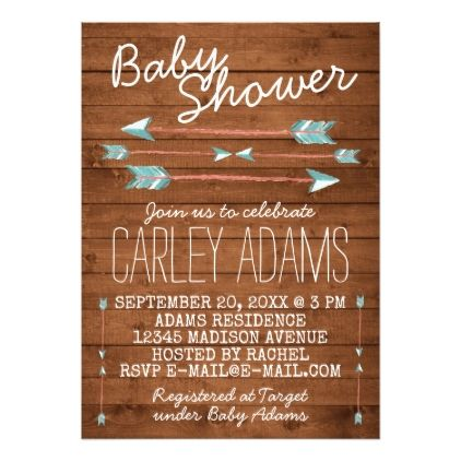 26 best images about rikki's baby shower on pinterest | arrow baby, Baby shower invitations
