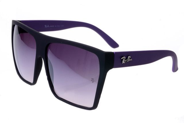 0e542304e9d8e2 Ray Ban Clubmaster RB2128 Sunglasses Purple Black Frame