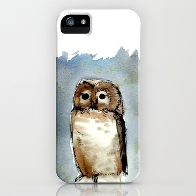 Little, Brown iPhone Case by Abby Diamond - $35.00