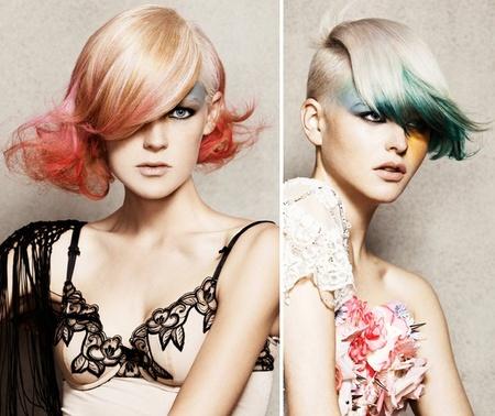 Hair fashion - haar mode 2012
