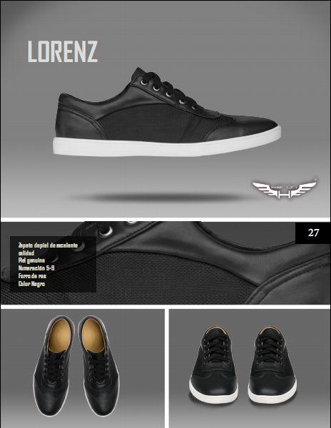 #Calzado modelo lorenz, color negro. #moda