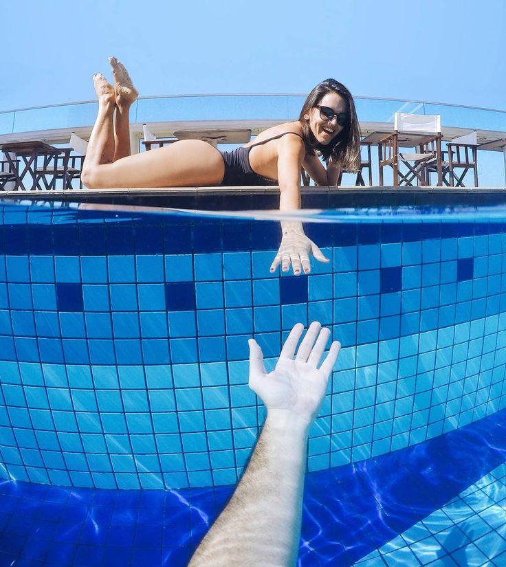 Othon Copacabana - Río de Janeiro. Casal na piscina no dia dos namorados. | Dicas de hospedagem | Pinterest | Pool photography, Beach photos and Couple pictures