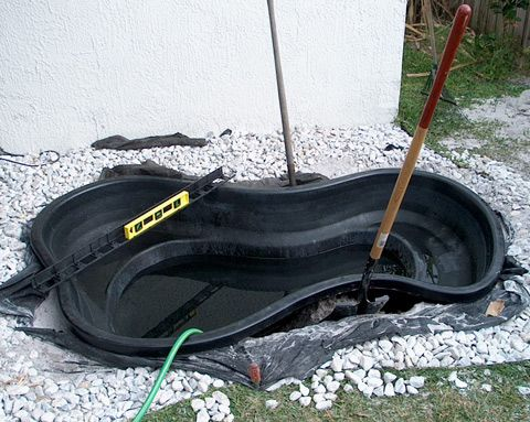 Best 25 preformed pond liner ideas on pinterest diy for Pond liner installation