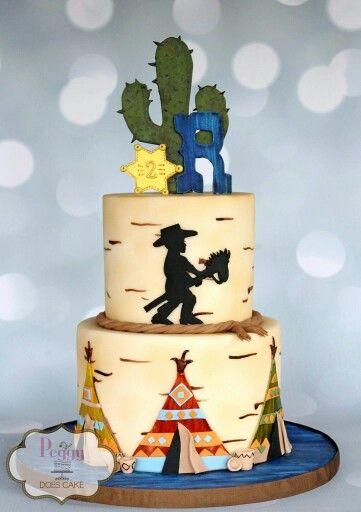 Wild West cake                                                                                                                                                                                 More