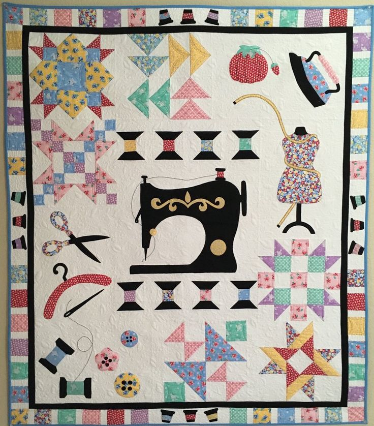 809 best QUILTS SEWING THEME images on Pinterest | Patterns, Deko ... : sewing machine quilting patterns - Adamdwight.com