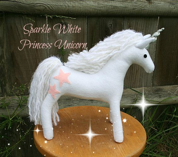 Sparkle White Princess Unicorn Handmade to Order ~ Ships in 3 weeks during the holiday season! ~ PLEASE SEE THE SHIPPING TAB ON THIS PAGE TO FIND OUT WHEN THIS ITEM WILL SHIP! CHRISTMAS DEADLINES: International ~ Order by November 18th (message us for a coupon code equivalent to Black Friday sale)  United States ~ Order by November 28th  Black Friday Sale on November 25th ~ Use coupon code BLACKFRIDAY2016 for 15% off your entire purchase  Cyber Monday Sale on November 28th ~ Use coupon code…