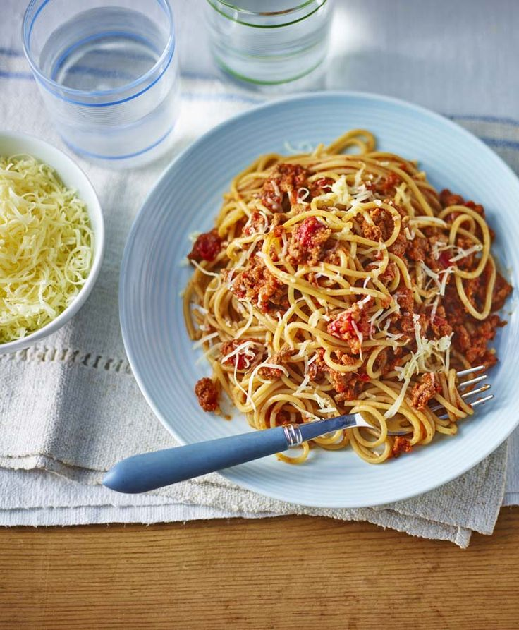 This meaty Bolognese hides lots of lovely vegetables, making it a healthy recipe for all the family