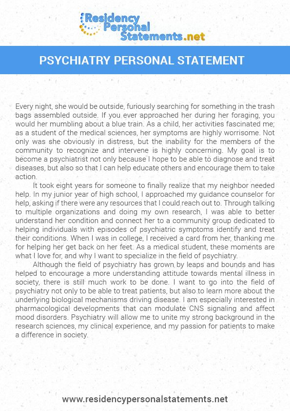 Residency Personal Statements Samples (residencypersonal) on Pinterest