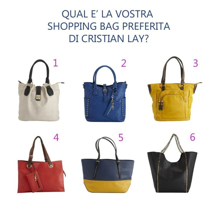 Shopping Bags - Cristian Lay