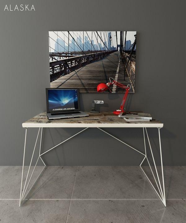 787 best madera metal images on pinterest coffee tables desks and diner table. Black Bedroom Furniture Sets. Home Design Ideas