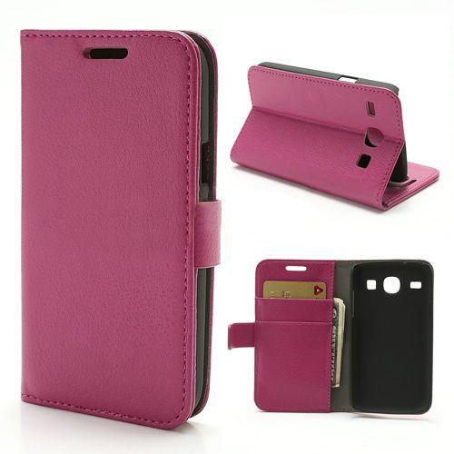 Bookcase hoesje roze Samsung Galaxy Core
