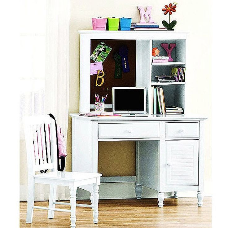 Best 25 White Desk With Hutch Ideas On Pinterest