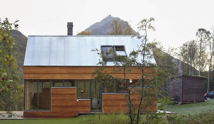 17 best ideas about contemporary cabin on pinterest for Tye river cabin co