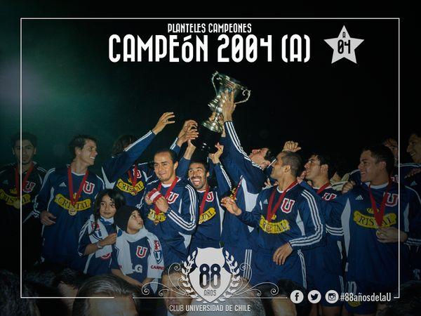 Campeón Apertura 2004