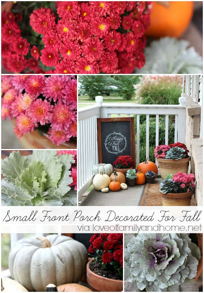 Our Fall Porch 2013 {Fall Porch Decorating Ideas} - Love of Family & Home