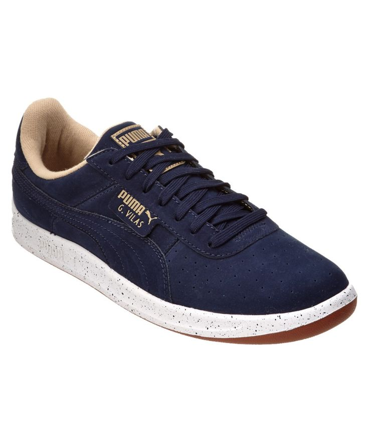 PUMA PUMA MEN'S G. VILAS SPECKLE NUBUCK SNEAKER'. #puma #shoes #sneakers