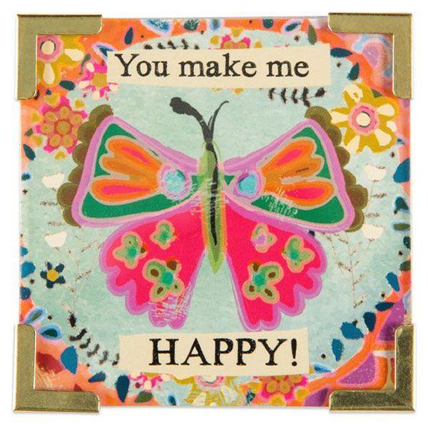 Natural Life Μαγνητάκι «You Make Me Happy»