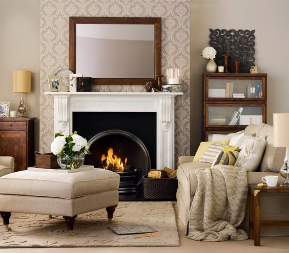 Warm and Inviting | Patterns, prints, colors, and textures come together to create the ultimate livable space.