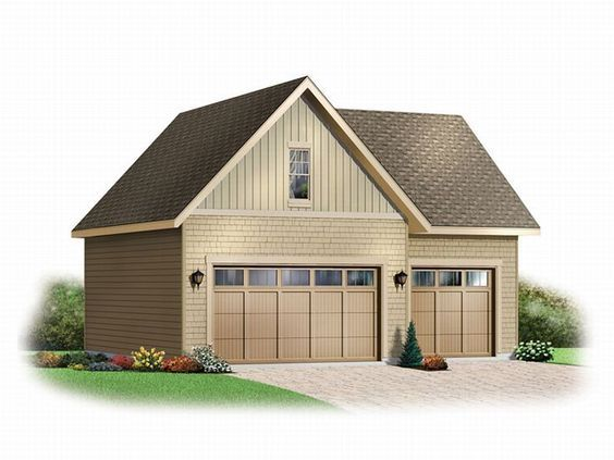 Best 25 3 car garage ideas on pinterest carriage house for 3 stall garage plans