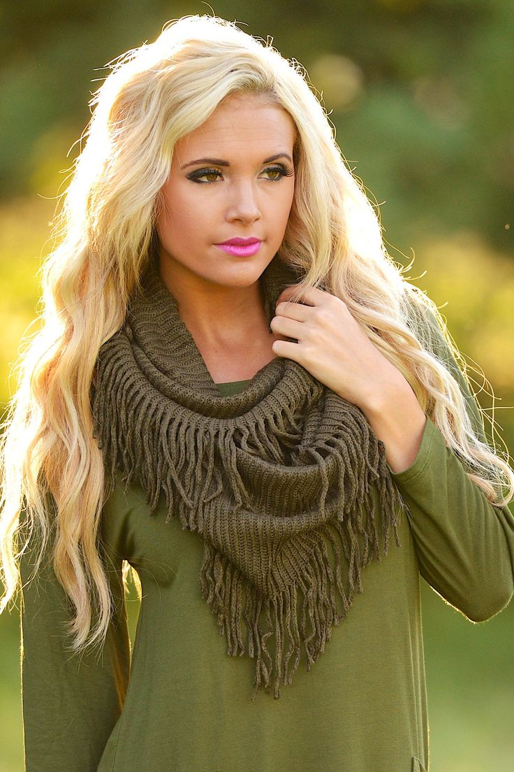 Women's Winter Plaid Multi Pattern Infinity Scarf with