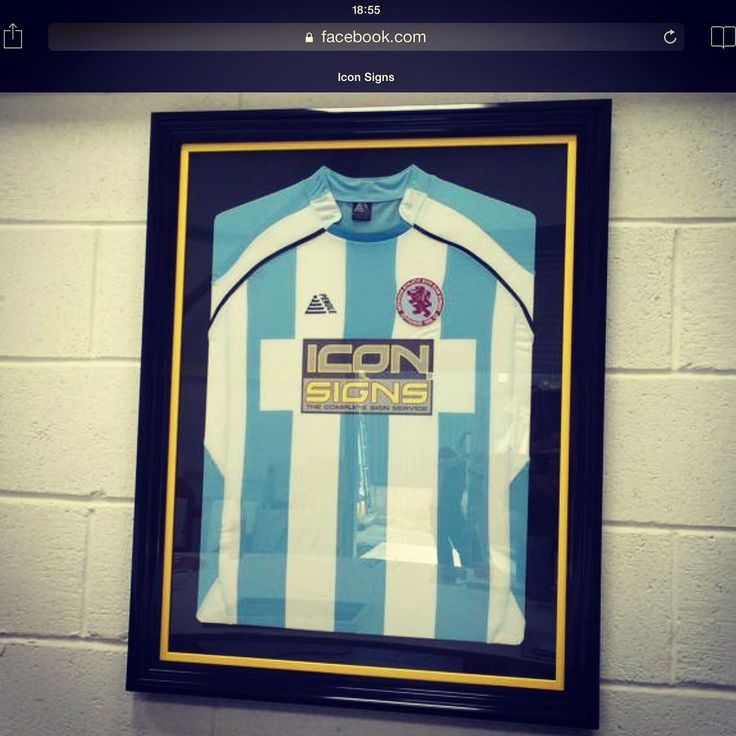Framed top with matching colour slip frame