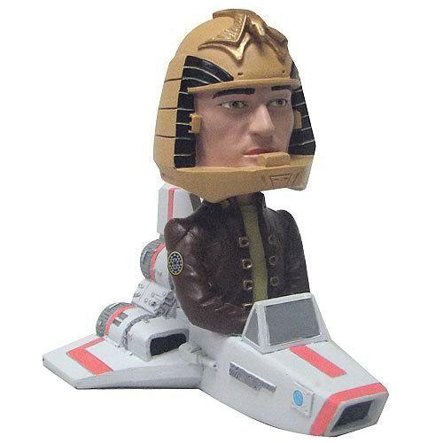 Battlestar Galactica Colonial Viper with Apollo Bobble Head