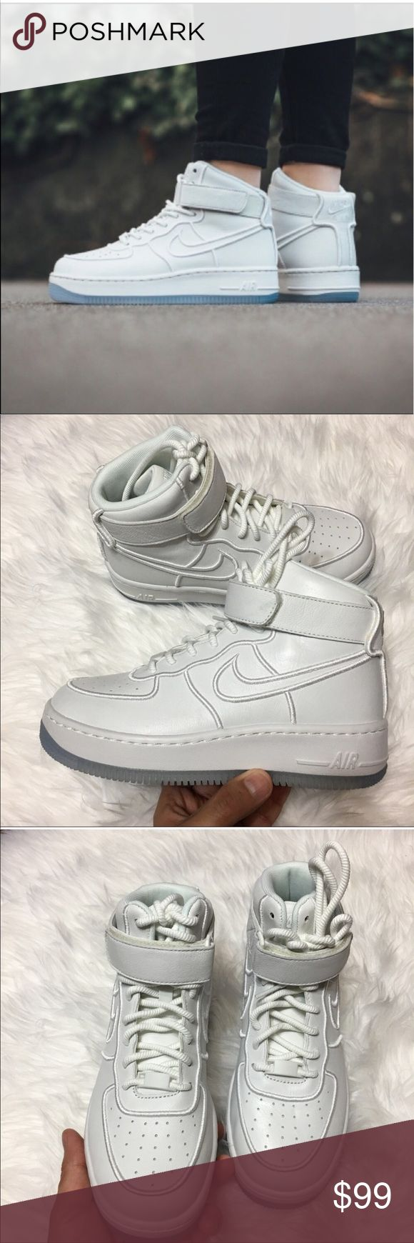 Nike Air Force 1 Upstep Hi BRAND NEW- ORIGINAL BOX NO LID  ✅USE OFFER BUTTON TO MAKE OFFERS❗️❗️❗️❗️❗️                                                                                                            ✅NEXT DAY SHIPPING ✅BUNDLES DISCOUNT                                                                 🙅🏻 NO TRADES 🙅🏻NO LOWBALLING Nike Shoes Athletic Shoes