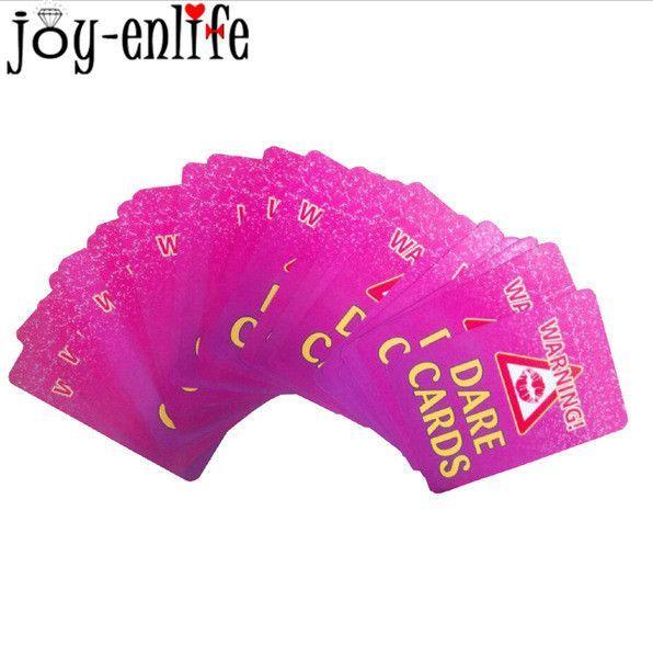 24PCS/bag Hen Party Supply Bachelorette Party Dare Card