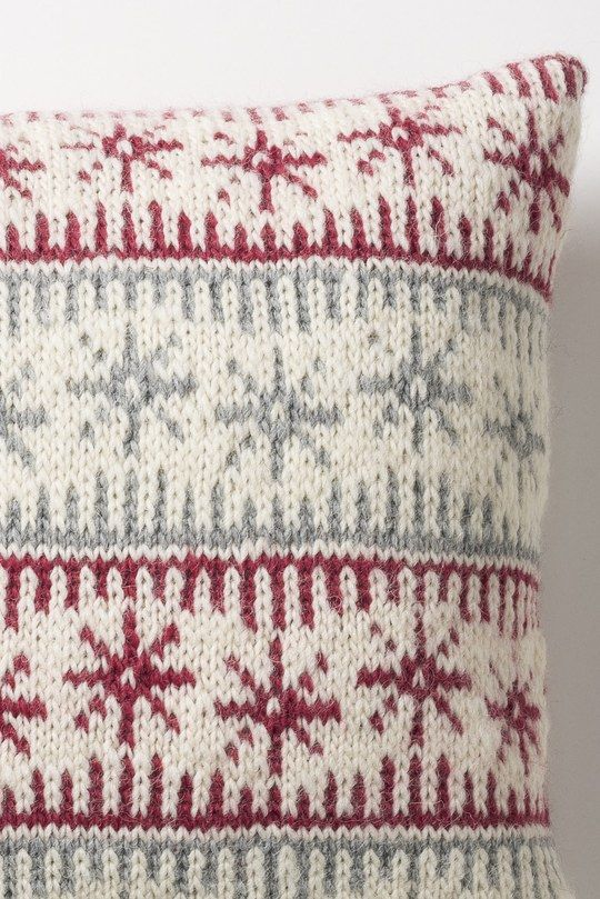 christmas nordic cushions to make for next year or a scandi chic home…