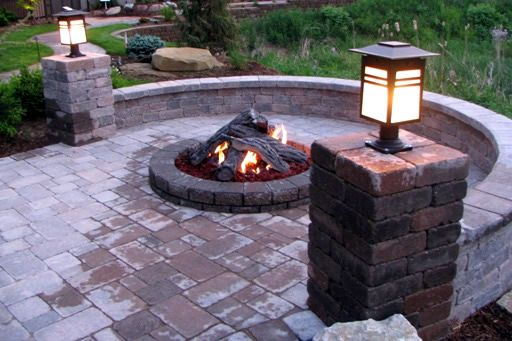 Patio Gas Fire Pits : Best backyard putting greens bay area artificial