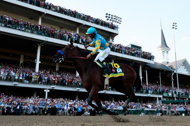 "The Winner - 2015 Kentucky Derby: The 141st ""Run for the Roses"" at Churchill Downs - Pictures - CBS News"