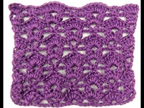 Crochet: Punto Combinado # 22 - YouTube