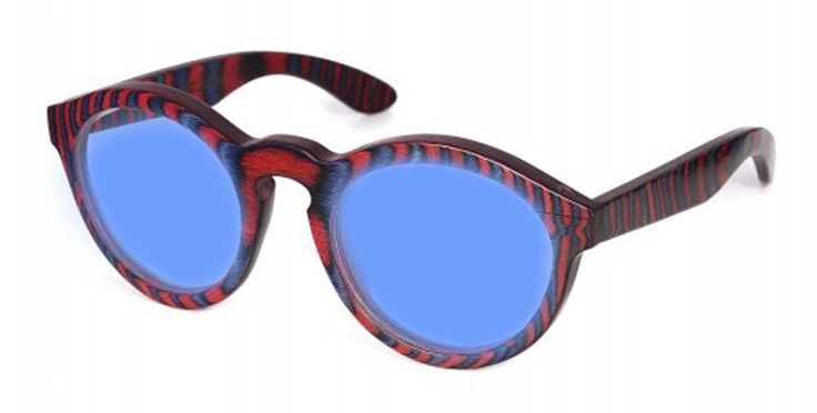 Specs of Wood Eyewear Smart Blue Blue/Red Polarized Blue Sunglasses. Brand-new authentic merchandise. Includes Bamboo Case. 30 day warranty through Specs of Wood. Created from natural renewable resources. Authorized dealer-warranty is valid.