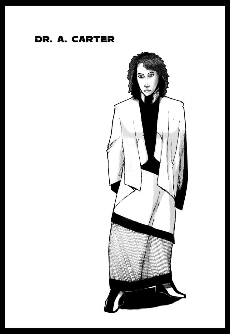 Preview of Patron A. Carter's comic book self