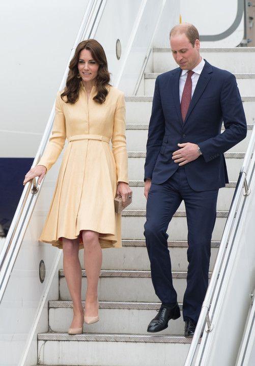 Książę William i księżna Kate z wizytą w Indiach