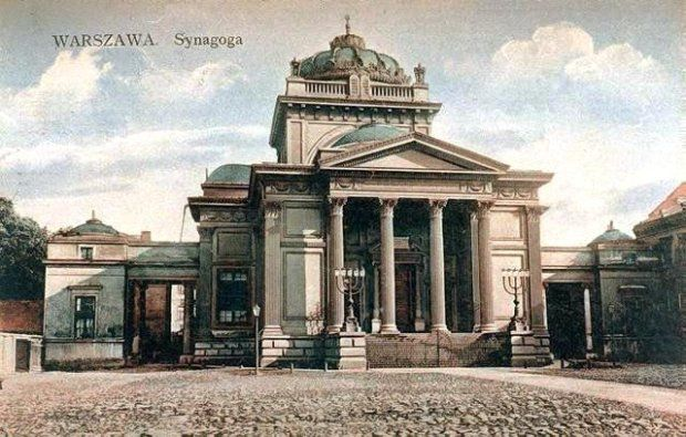 Synagoga. Plac Bankowy