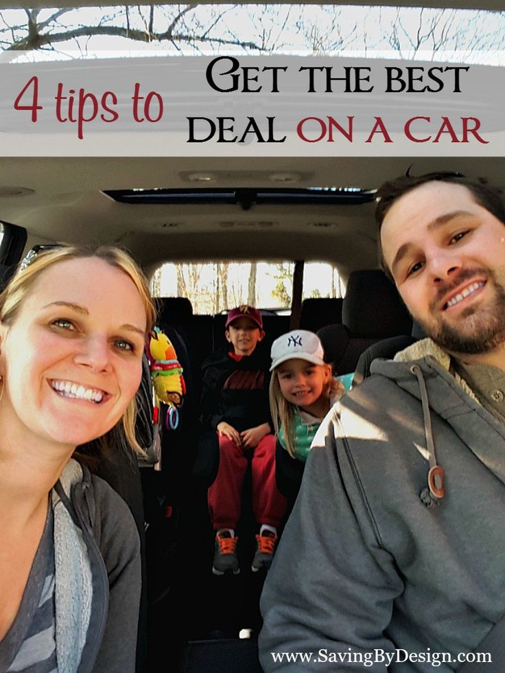It's been a while since we've shopped for a new (or used) car so I did some research to make sure we got the best deal and made a smart decision. Here are a few tips to get the best deal on a car if you're embarking on a car-buying adventure too.